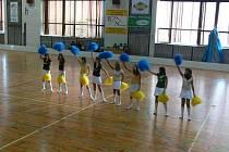 Ve sportovní hale v Tachově pořádalo místní gymnázium sportovní dopoledne, kterého se účastnilo gymnázium z Dubnice nad Váhom.