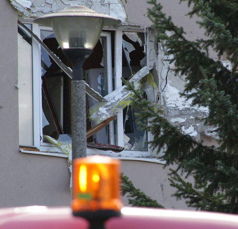 Následky řádění vichřice Fabien v Přimdě a okolí.