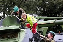 Mezinárodní vojenské cvičení zpřístupnila česká armáda také veřejnosti