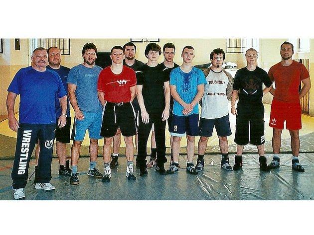 Ve Stříbře se konalo soustředění reprezentačního výběru zápasníků, nechyběl na něm trenér Hejplík.