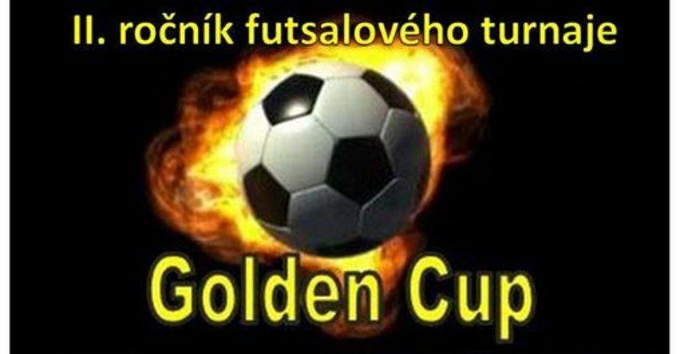 Logo druhého ročníku turnaje Golden Cup v Holýšově.