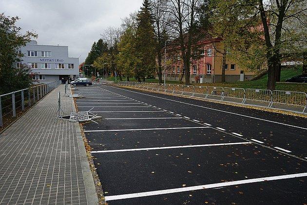 Ulice Hornická se otevře příští úterý.