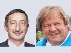 Voliči si vybrali, že do druhého kola senátních voleb chtějí Miroslava Nenutila (ČSSD) a Jiřího Dufku (ANO 2011).