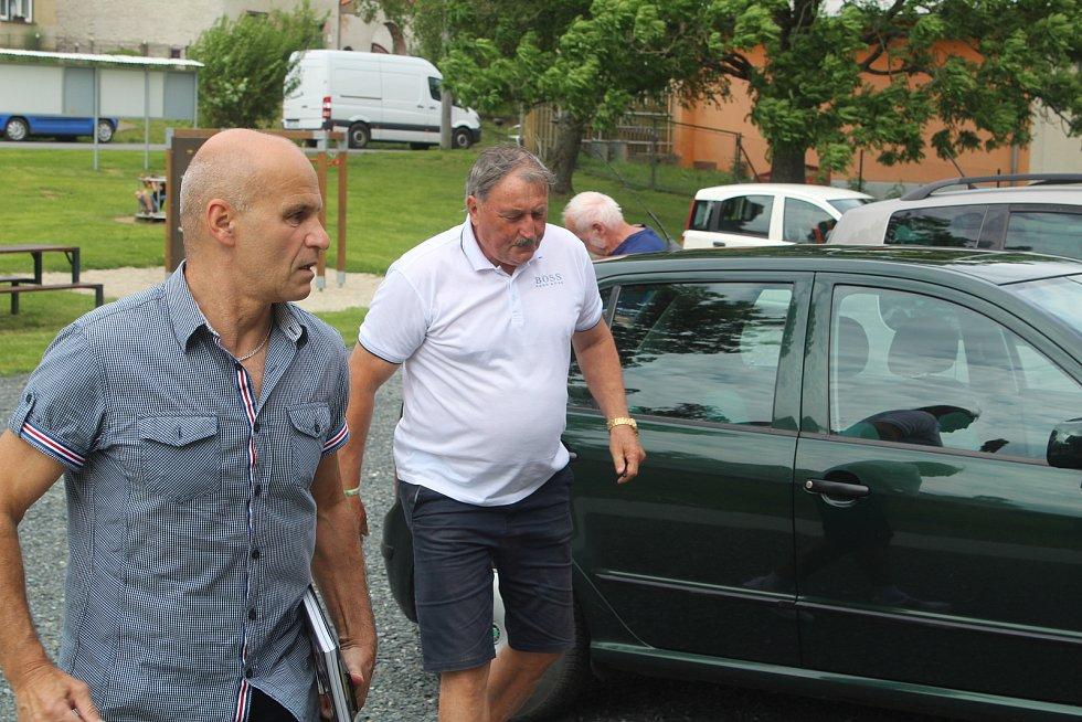 Antonín Panenka v Zadním Chodově.