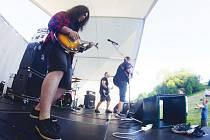 Kapela The New Morning představila na prvním ročníku festivalu Vlekfest svého nového kytaristu. Tím je Patrik Petruň