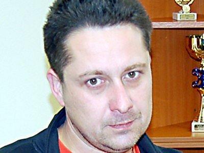 Velitel borských dobrovolných hasičů Vladimír Křižka.