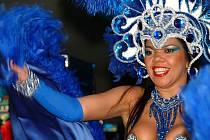Brazilské tanečnice, které vystoupily také v rozvadovském kasinu.