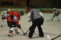 Hokej: Finále play off krajské soutěže: HC Tachov – HC Ves Touškov El Toro 2:2 a 4:2.