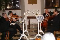 Smyčcové kvarteto Allergro pod taktovkou Karla Chaloupeckého