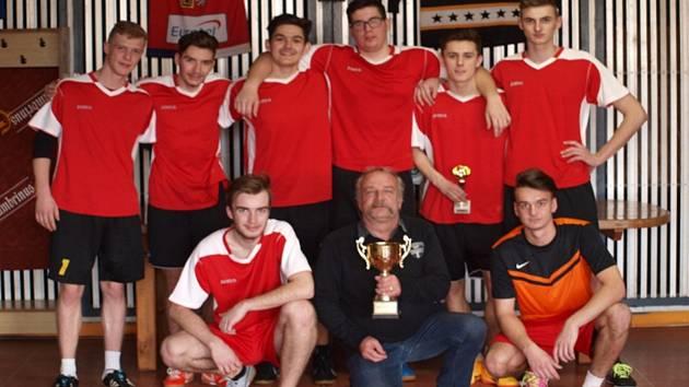 Vítězné družstvo futsalového turnaje.