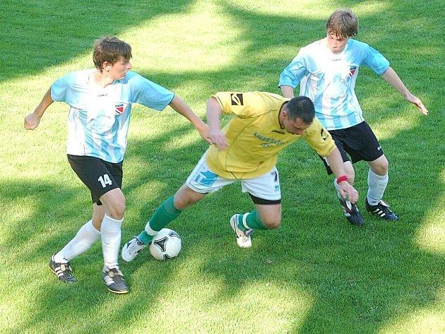 Fotbal-1. A třída: T. Přimda-FK Žákava 1:0