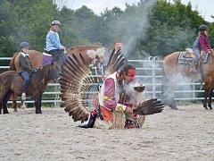 Už poosmé hostil chodovský ranč Níveas Hobby závody, respektive jízdu zručnosti na koni.