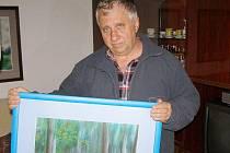 Stříbrský malíř Jan Rybecký vystavuje v tachovském muzeu.