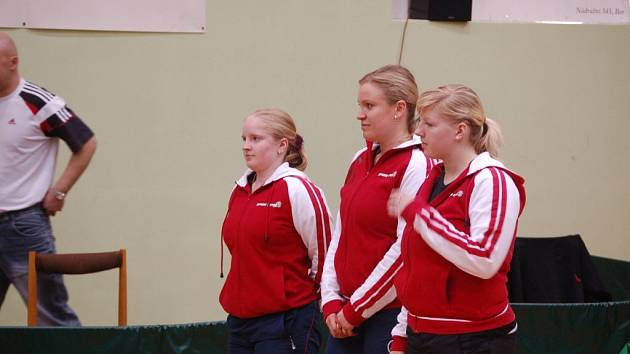 V extralize stolního tenisu se hrálo čtvrtfinále play-off
