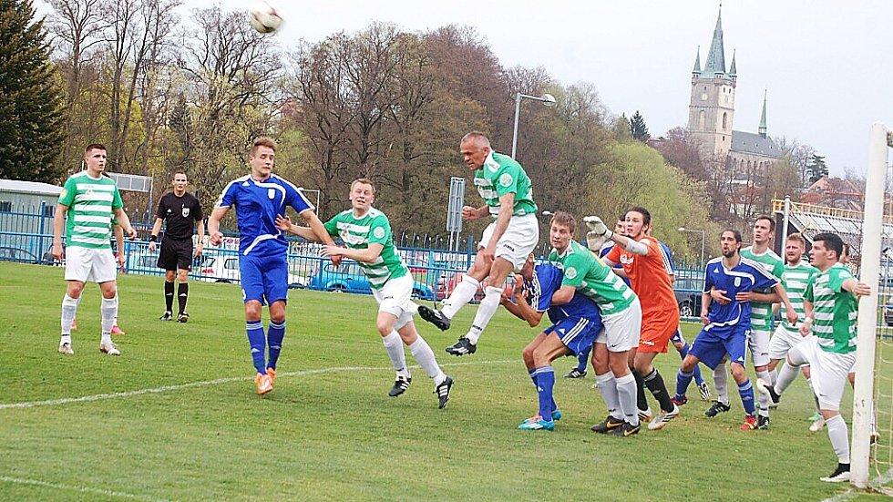 V jedenadvacátém kole fotbalové divize porazil FK Tachov mužstvo S. Čížová 1:0.