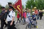 Desítky hasičů z různých koutů Tachovska se sešly v Černošíně při oslavách založení tamního hasičského sboru.
