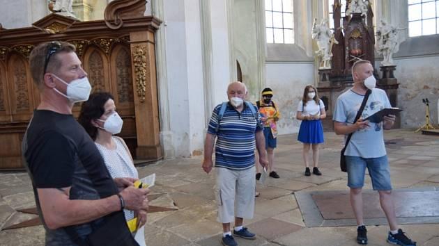 Monastýrování v Kladrubech: prohlídka kláštera i luštění tajenky