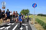 Z otevření nové cyklostezky.
