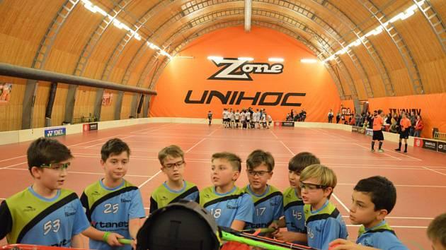 Mladí florbalisté Tachova bojovali na Prague Games.