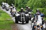 Více než 230 členů klubu Harley Davidson Praha se sjelo do kempu Butov na Hracholuské přehradě na pravidelné klubové akci Czech Rallye.