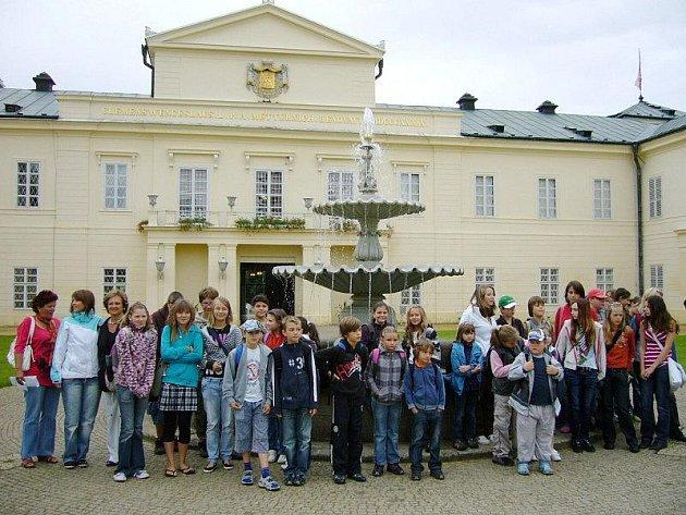 Děti z Cernošínska využily možnosti prázdninové výuky jazyků.