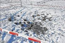 AČ VYPADÁ propadlá zemina nevině, nebezpečí při vstupu rozhodně hrozí.
