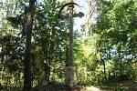 Barokní kříž se podařilo zachránit v rámci adopcí kamenných památek.