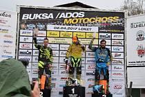 Vítězství v první rozjížďce závodů v Lokti bylo zatím životním výsledkem stříbrského motokrosaře Rudyho Weschty.