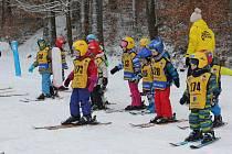 Lyžařský výcvik dětí ze Studánky.