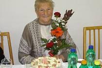 Terezie Štěrbová se 25. prosince dožívá úžasných 90. let