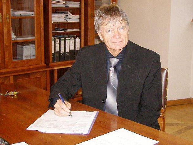Starosta Stříbra Bohuslav Červený.