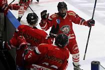 Tachovští hokejisté (radující se na archivním snímku).