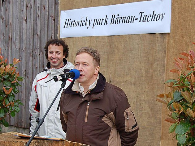ROMAN SOUKUP. Předseda spolkové rady sdružení Terra Tachovia (vpravo).