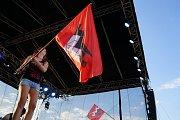 Na letišti nad Tachovem se uskutečnil další ročník rockového festivalu Tarock.