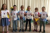 Předškoláci se rozloučili v mateřské školce ve Studánce na Tachovsku.