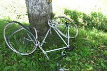 Škoda na kole a kamionu byla odhadnuta na tři tisíce korun. Dívka ale utrpěla těžká zranění.