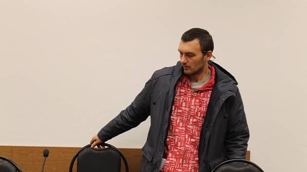 Obžalovaný Denis Kolesnikov.