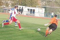 Divizní fotbal: Mužstvo FK Tachov hostilo na městském stadionu SK Marila Votice a remizovalo 1:1