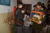 V předvečer Štědrého dne obešli betlémáři kladrubské domácnosti