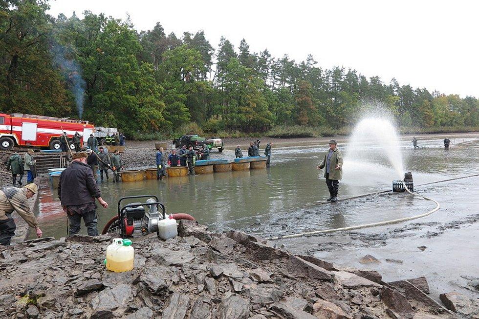 Výlov rybníku Sytno