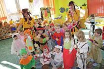 Karneval v tachovské mateřince Pošumavská