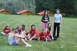 Tachovský dětský sbor na letním soustředění v Kořeni