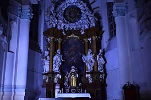 Kostel v Pístově.