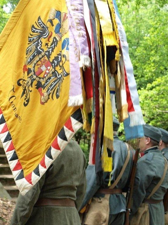 U Černošína uctili památku obětí první světové války.