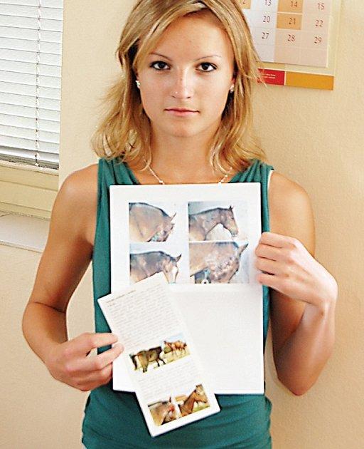 Daniela Vlnová byla hlavní iniciátorkou adopce Maxe. Nakonec se zapojilo celé gymnázium.
