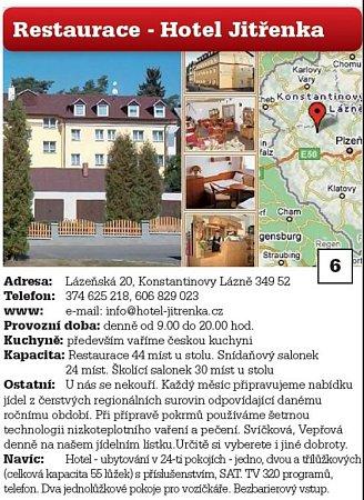 6. Restaurace - Hotel Jitřenka