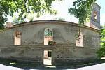 Kostel Navštívení Panny Marie v Nových Domcích na Tachovsku.