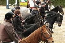 Hubertova jízda zakončila jezdeckou sezónu v Oldřichově.
