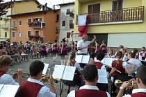 Zájezd DOM Tachov a mažoretek do Itálie