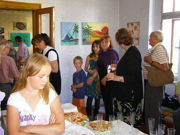 Dvanáct výtvarníků Borska se sešlo na Staré poště v Kladrubech